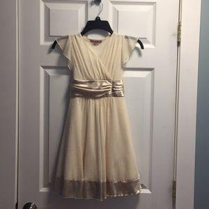 Sparkly girls dress 8